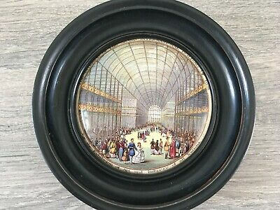 Prattware Pot Lid - The Interior Of The Grand International Building 1851 • 69.99£