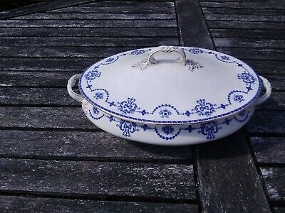 Vintage  John  Maddock  & Sons Royal Vitreous  Serving Dish With  Lid • 4.99£