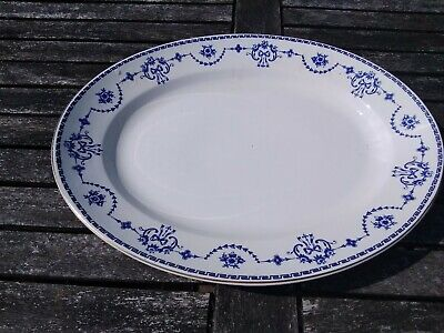 Vintage  John  Maddock  & Sons Royal  Vitreous  Large Platter • 5.99£