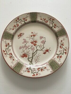 T. Furnival & Sons Madras 10 1/8 Inch Plate • 29.99£