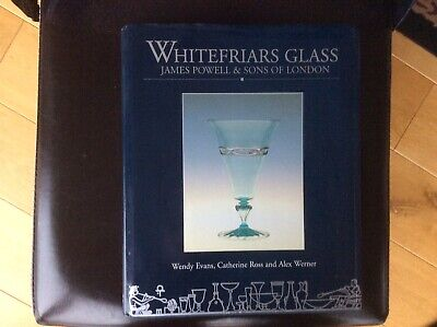 Original Whitefriars Glass James Powell & Sons Book By Museum Of London • 180£