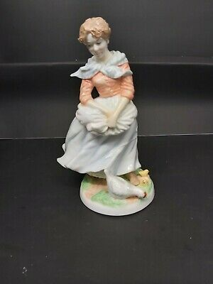 Figure  A Farmer's Wife  By Royal Worcester, Limited Edition 7801 • 4.70£