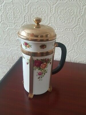 Royal Albert Old Country Roses Cafetiere • 16.30£