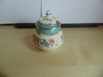 Crown Staffordshire Lidded Mustard Pot Unboxed / Used • 4£