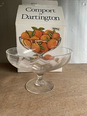Comport Of Dartington Crystal Bowl With Original Box • 9.50£