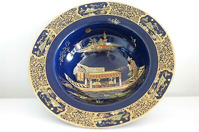 Carlton Ware Chinoiserie Bowl - Barge - Pattern 2519 - Art Deco - Late 1920's • 125£