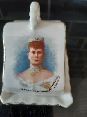 Gemma Ware H.M.Queen Mary Cheese Dish And Cover Great Condition 3  X 2  X 2  • 22£