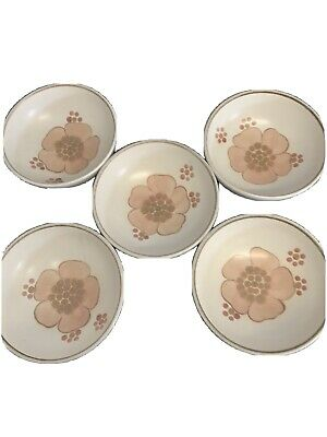 Denby Pottery Bowls Gypsy  Five In Total - 6  Diameter Excellent Condition • 10£