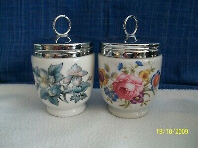 2 Large (double Egg Size) Royal Worcester Egg Coddlers • 10.99£