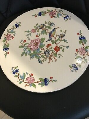 Aynsley Pembroke Flat Rope Edge Cake Plate Or Cheese Plate 10.5 Inches • 9£