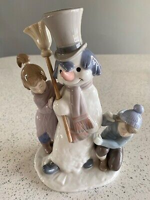 Lladro Snowman, Very Good Condition, Ideal For Christmas • 30£