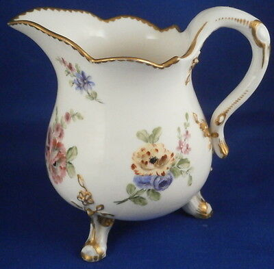 Antique 18thC Sevres Soft Paste Porcelain Creamer Pot à Lait Milk Jug Porcelaine • 433.10£