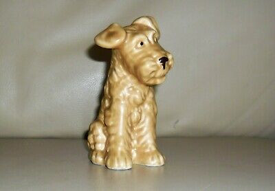 Vintage Sylvac Fawn Terrier Dog. Model No.1378. Cute Cheeky Face! 5  Tall • 15£