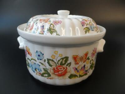 Aynsley Cottage Garden Oven To Table Small Lidded Casserole Dish • 14.99£