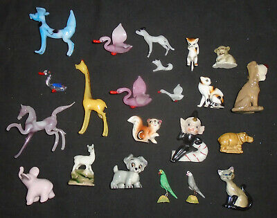 CollectionJob Lot Of Vintage Glass Animals And Ornaments Porcelain Some Disney ? • 19.99£