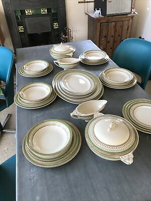 Antique J & G Meakin Westminster Dinner Service Set 31 Pieces C 1912 • 50£