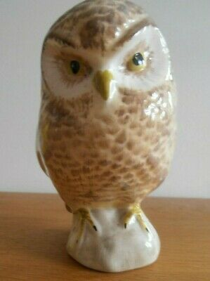 Babbacombe Pottery Owl Figure - Excellent Condition • 24£