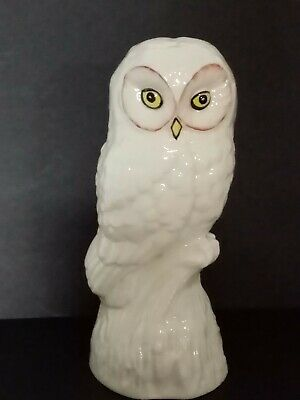 Vintage Donegal Ireland Parian China Owl Moloch Perfect Condition • 19.99£