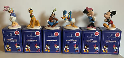 Royal Doulton Disney Figurines-Mickey Mouse Collection 70th Anniversary FULL SET • 170£