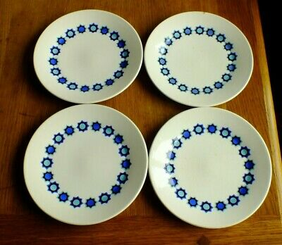 J&g Meakin Studio Cadiz Tea / Side Plates X 4 • 6£