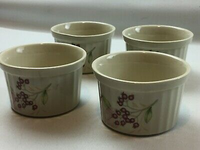 4 Vintage Wade Wild Berries Ramekins Wade Pottery Made In England Collectables • 14.94£