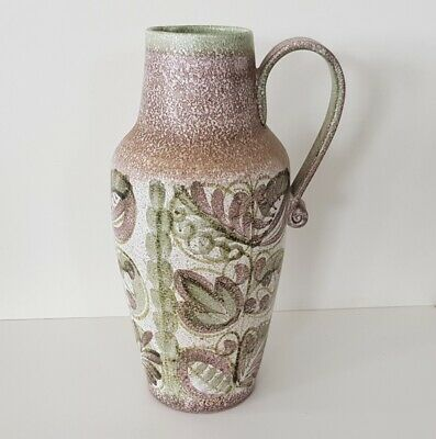 Large Abstract Jug By Glyn Colledge For Denby. - 34 Cm Incised Signature. • 75£