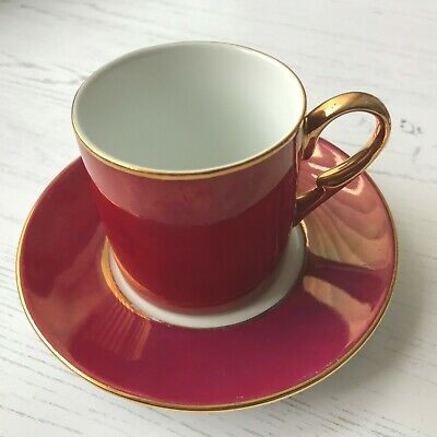 Set Of Four Fine China Demi Tasse For Coffee Service Inconditionllent • 3.74£