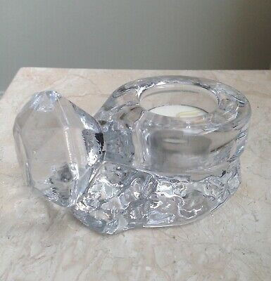 Kosta Boda Glass Votive - Ring From The Make Up Collection. New In Box • 8.90£