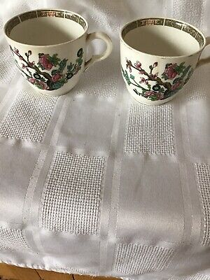 John Maddock & Sons England Indian Tree Design Pair Of Odd Cups • 0.99£