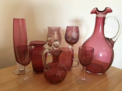 Ruby Glassware Selection • 10£