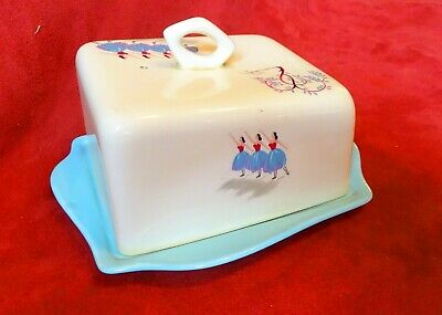 Beswick Ballet Butter / Cheese Dish And Cover  - Pattern 1432  • 14.99£