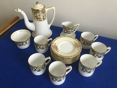 Vintage Noritake  RC  Made In Japan Coffee Set - 15 Pieces. • 29.99£