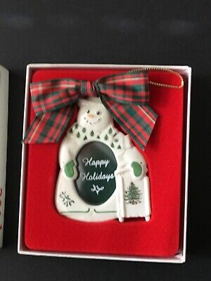Spode Christmas Tree Decoration - Picture Frame • 7.50£