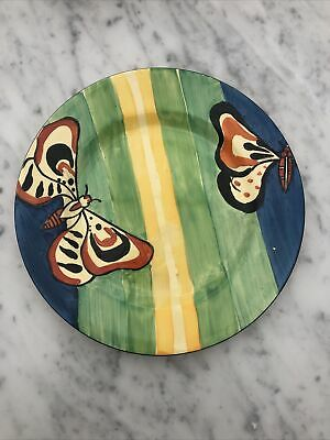 Clarice Cliff Fantasque Butterfly Plate • 225£
