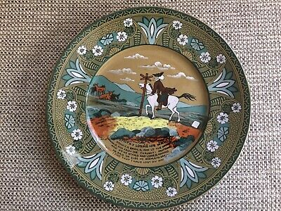 "Buffalo Pottery,Deldare Ware,9.1/4""Dia Plate,Dr Syntax Losing His Way • 29.99£"