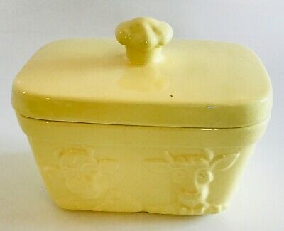 Wade I Can't Believe It's Not Butter Dish Tableware Serving Cooking Kitchen Farm • 12.49£