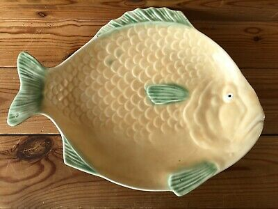 Large Vintage Art Deco Shorter And Son Fish Plate Stoke On Trent  • 18.99£