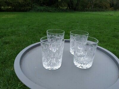 Four Waterford Crystal Whisky/Water Glasses - Never Used! -  Rare Discontinued • 25£