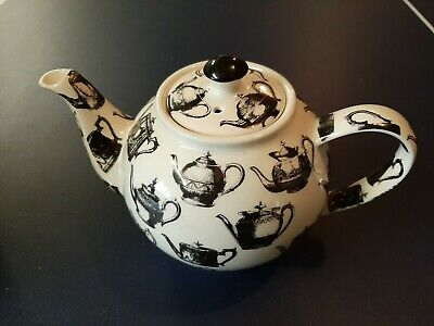 Cardew Teapot Pewter Teapots Design - Black And White  (33) • 12£