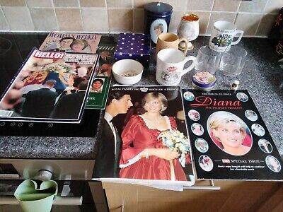 Various  Items Relating  To  Prince  Charles  And  Diana  (china Etc) • 4.99£