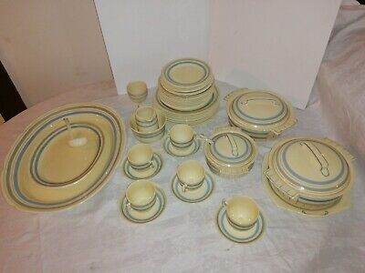 Vintage Bovey Pottery  Exmoor  Dinner Set- 45 Pieces • 45£