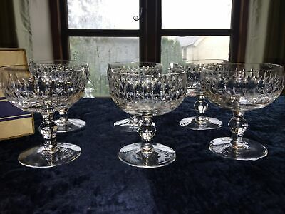 Waterford Crystal Maureen Champagne Saucer Glass X 6 Glasses Boxed • 340£