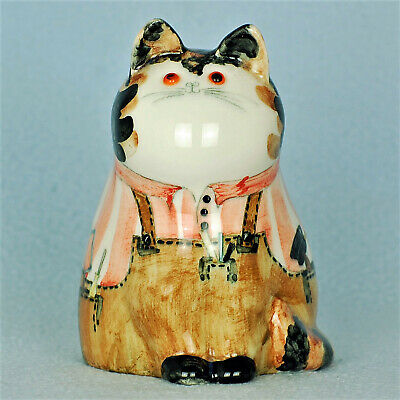Cinque Ports Pottery The Monastery Rye Gorgeous Joan De Bethel Carpenter Cat • 125£