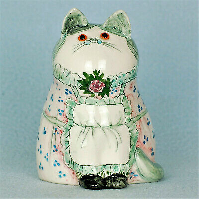 Cinque Ports Pottery The Monastery Rye Gorgeous Joan De Bethel Housekeeper Cat • 125£