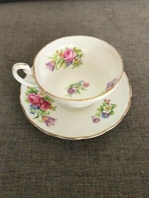 Vintage EB 1850 Foley Bone China Cup And Saucer • 10£