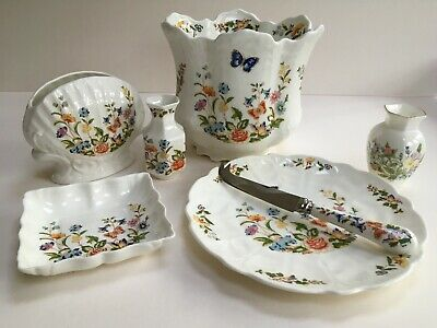 Collection Of Ainsley Bone China  Cottage Garden  Pattern • 9.99£