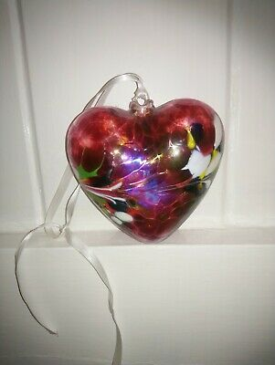 Glass Heart Decoration • 8.75£