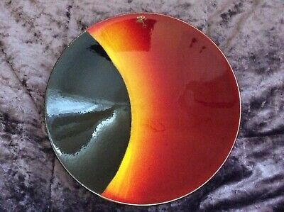 Poole Pottery 25cm Eclipse Charger / Dish Limited Edition {Damaged} • 10£