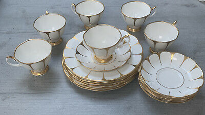 Royal Vale Bone China, 6 Peice Tea Set (cup,saucer,side Plate) • 50£
