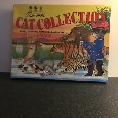 Wade Vintage Christmas Crackers Cat Collection – Tom Smith Still Sealed • 21£